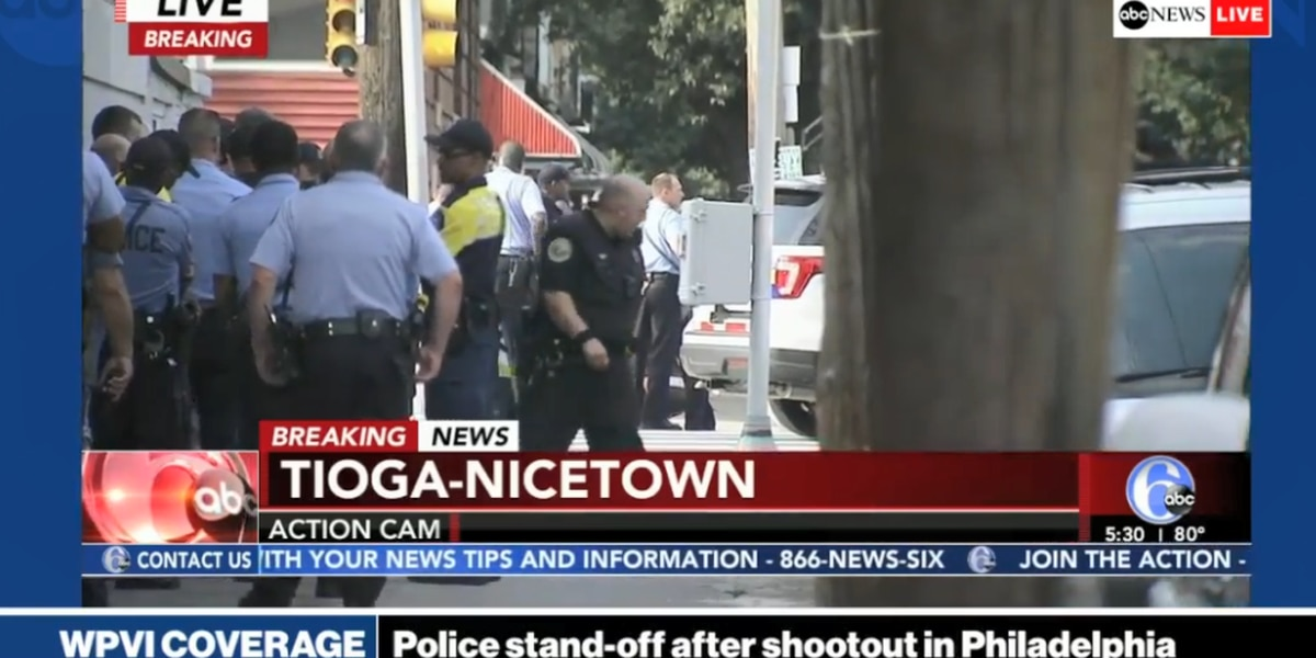 LIVE UPDATES: Six officers injured after Philadelphia shooting