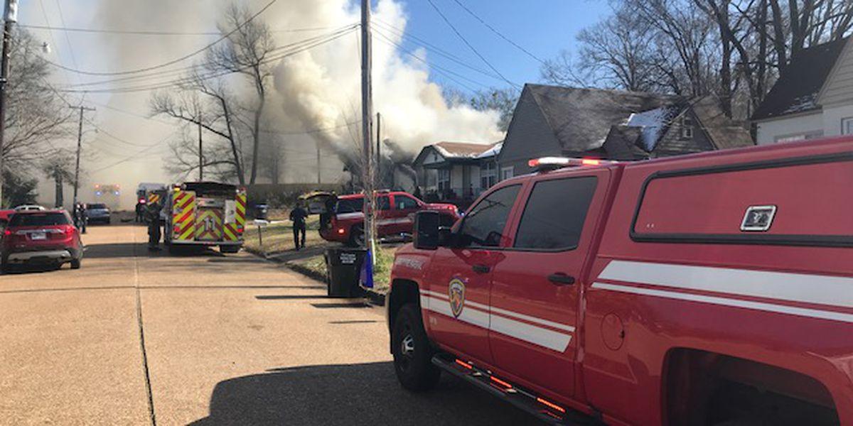 Longview home destroyed, 3 pets dead following fire