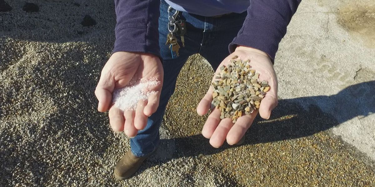 City of Tyler to use magnesium chloride, crushed gravel on icy roads