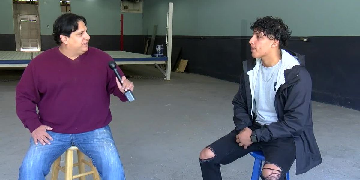 WEBXTRA: COVID-19 not stopping Tyler boxer from staying in shape
