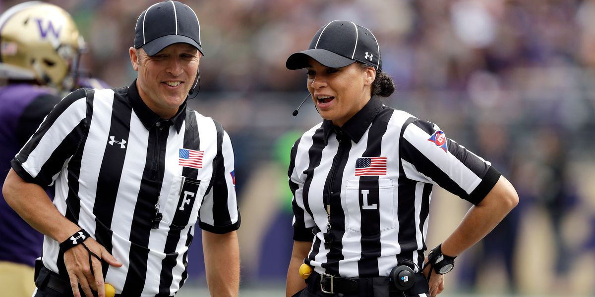 NFL hires first Black female game official, Maia Chaka