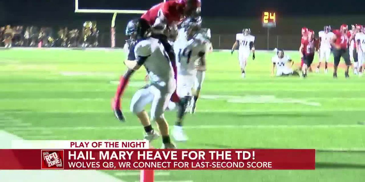 Week 5: Play of the Night, San Augustine Wolves