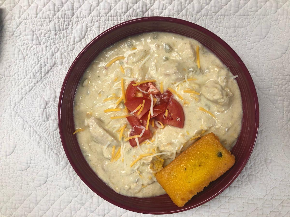 Creamy Tex-Mex Chicken Soup by Mama Steph