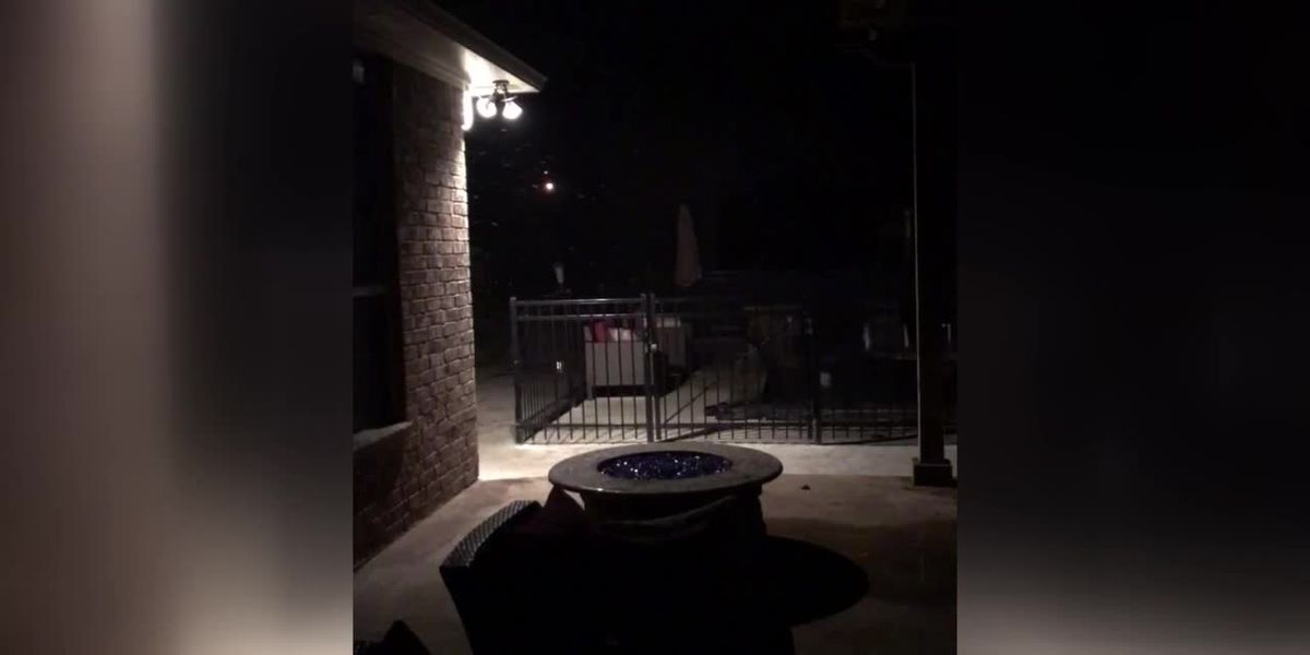 VIDEO: Flurries in East Texas