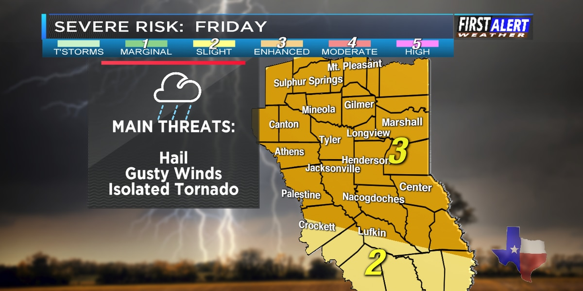 First Alert Weather Day: Expect heavy showers, strong thunderstorms this evening