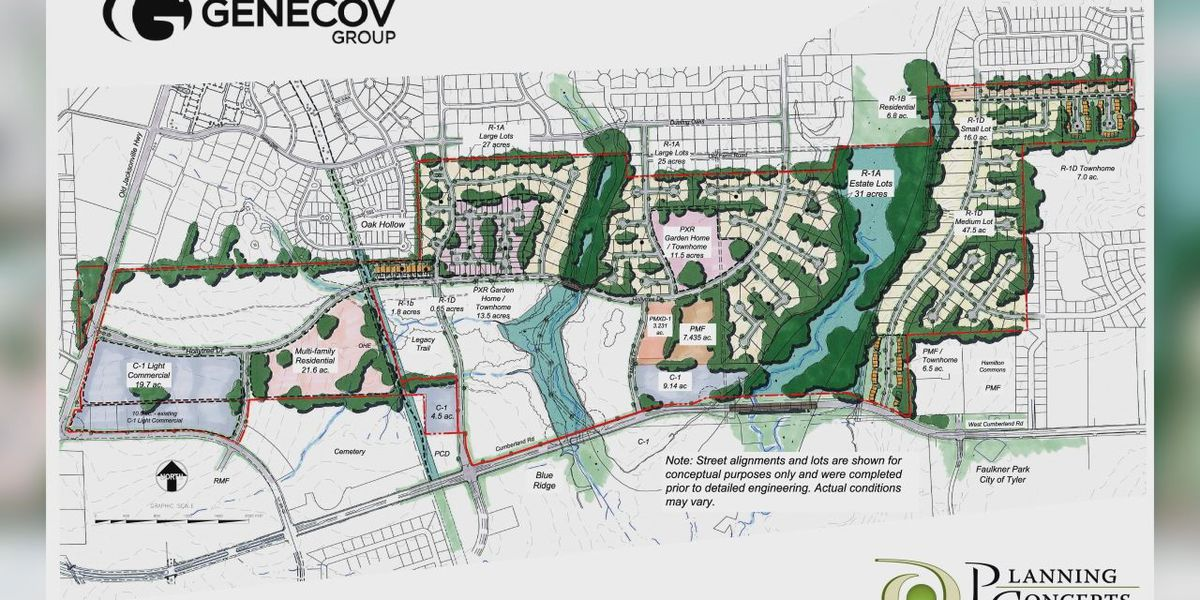 Tyler City Council approves majority of controversial new housing development
