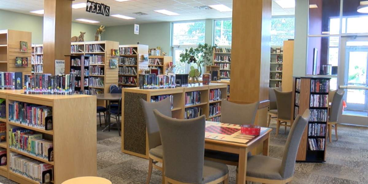 Rusk library welcomes guests from Jacksonville while new facility is built