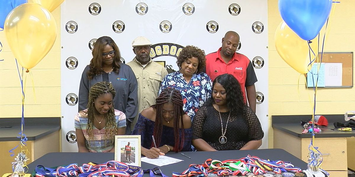 Nacogdoches' Zarreah Tilley carrying father's legacy to college