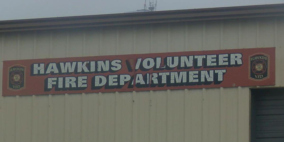 City council votes to suspend Hawkins Volunteer Fire Department