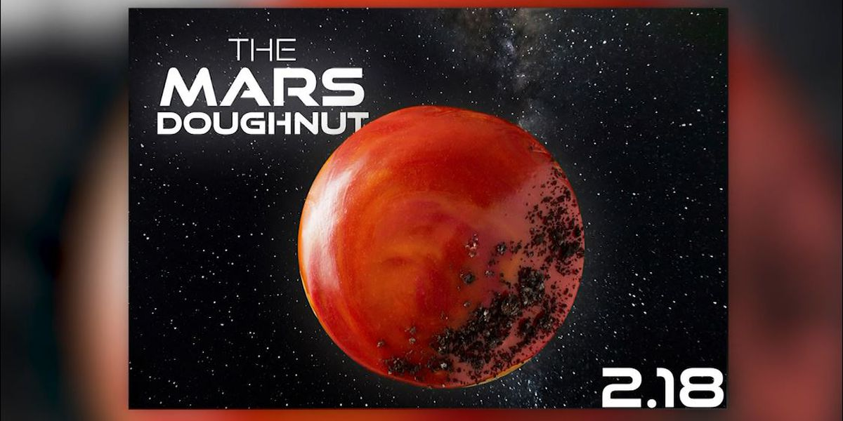 Krispy Kreme offers out-of-this-world doughnut to celebrate Mars rover landing