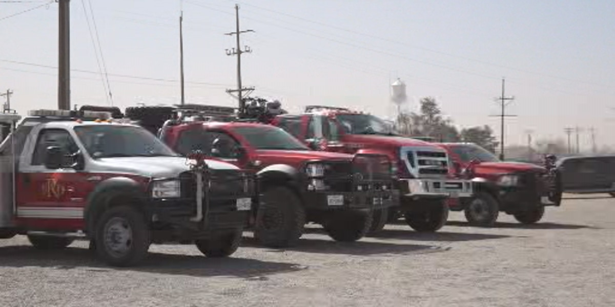Strike Team from Dallas assigned to West Texas to help with upcoming fire danger