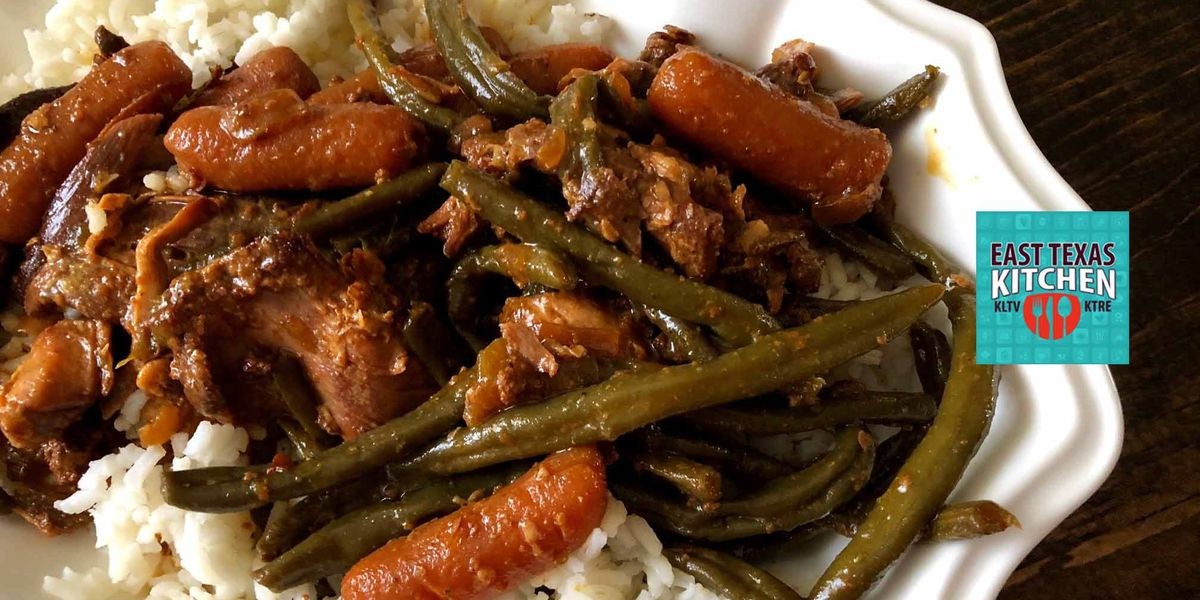 Slow cooker spicy honey chicken and vegetables by Mama Steph