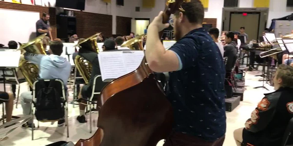 WEBXTRA: TJC Apache band featured in Tyler Rotary Christmas Parade