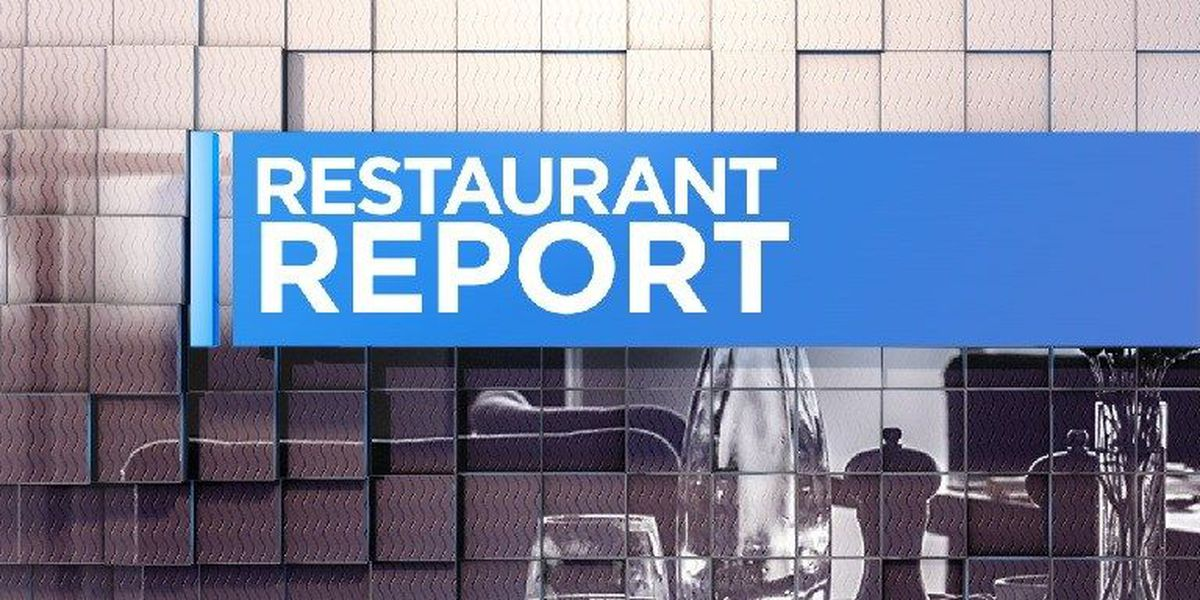 Restaurant Report: One problematic inspection