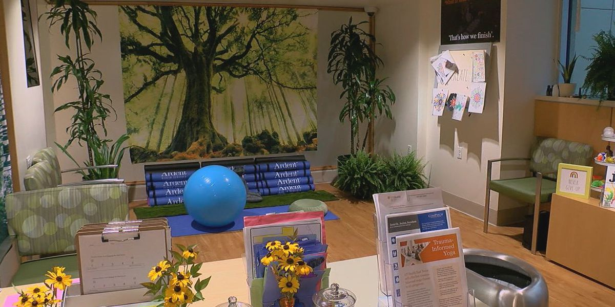 UT Health East Texas offers 'Recharge Room' to help relieve stress