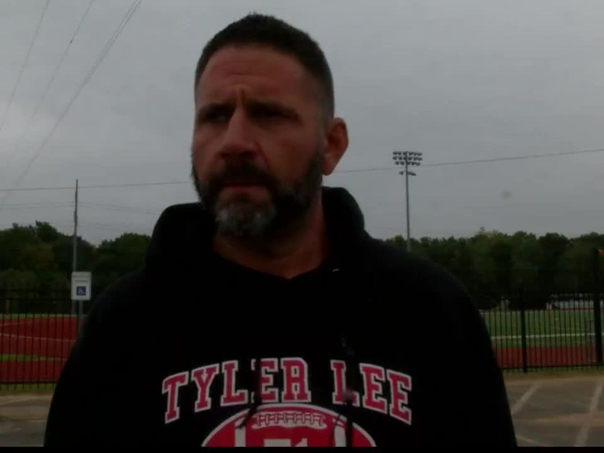 Coach Traylor of Tyler Lee