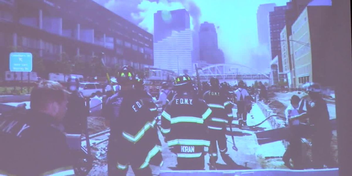 WEBXTRA: Kilgore Fire Academy observes 9/11 with presentation to new recruits
