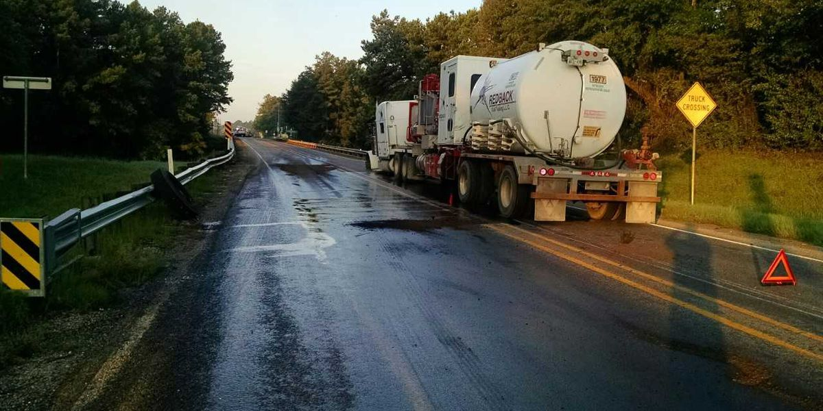 FM 2087 overpass reopens after fuel spill