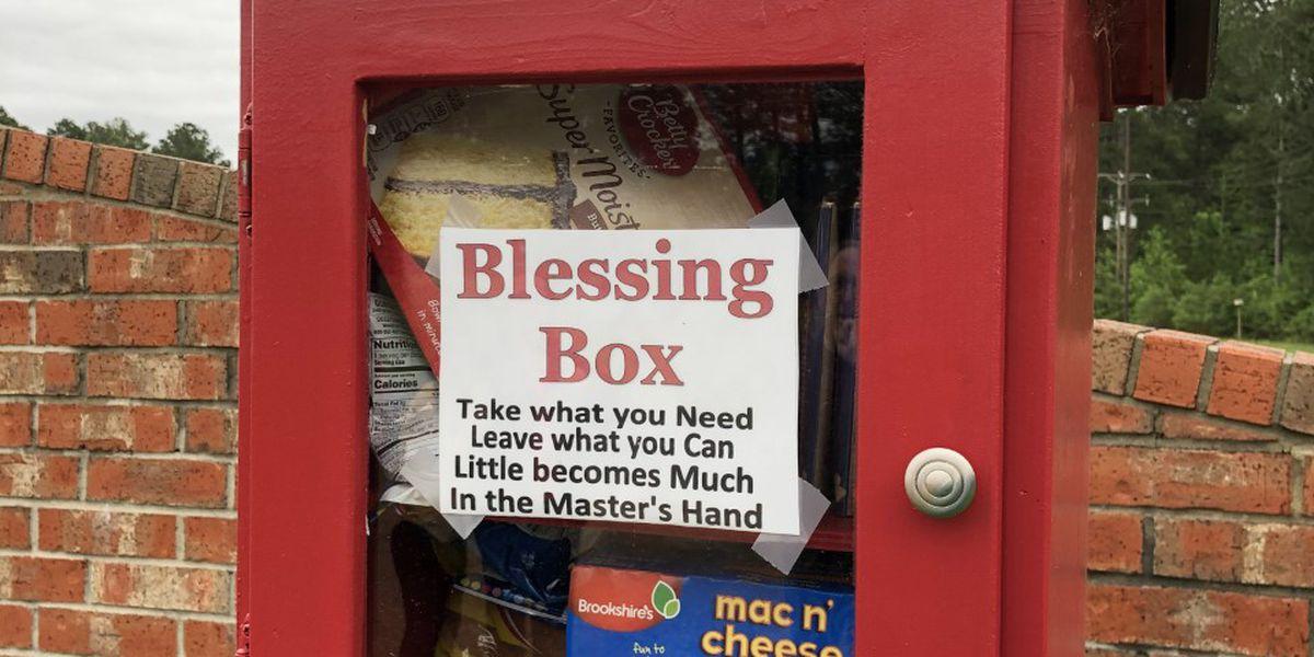 Kilgore church creates Blessing Box to help fill community's needs
