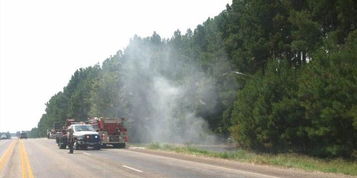 Upshur Co. fire contained, homes no longer threatened