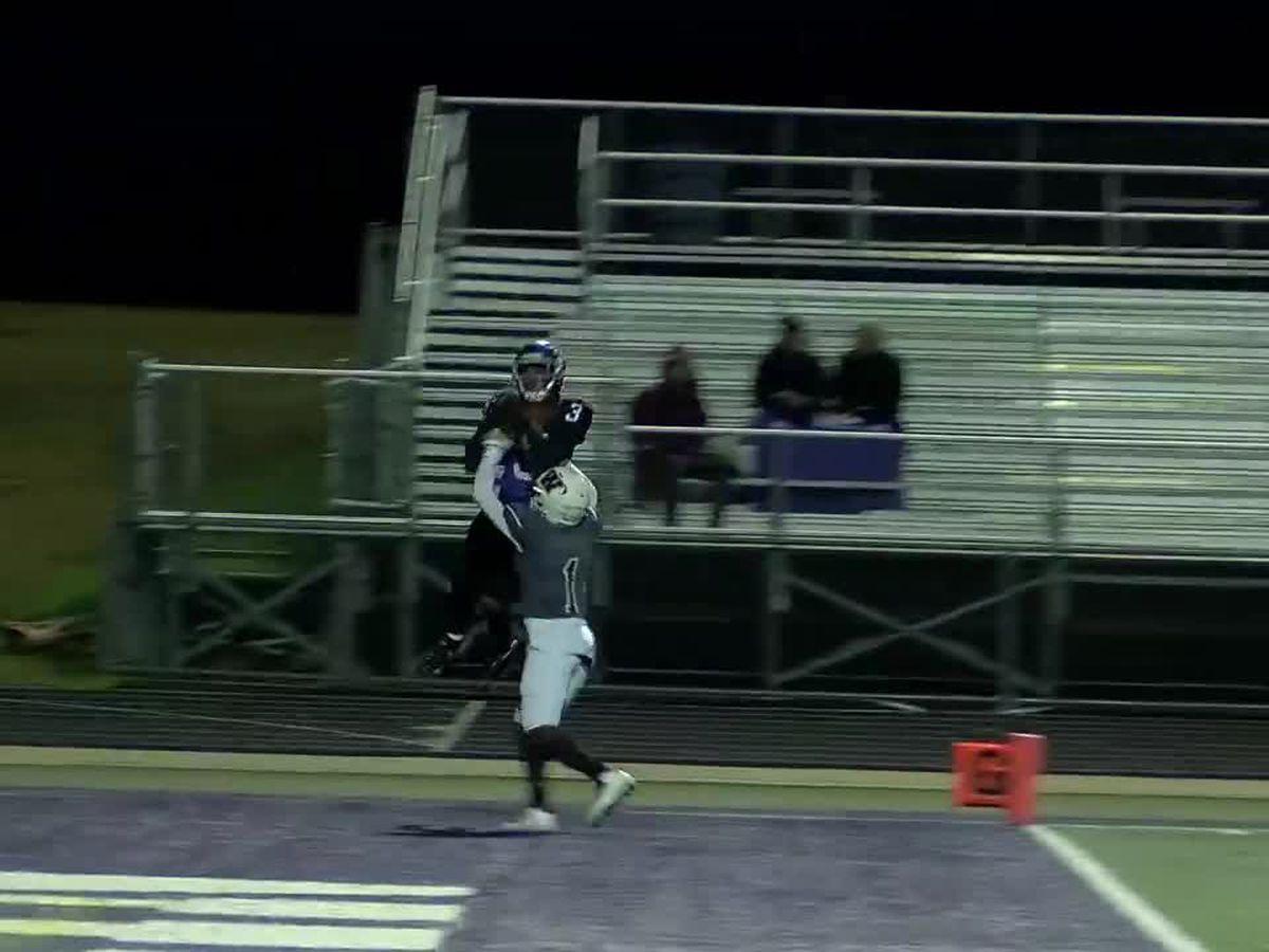 WATCH: Lufkin receiver's athletic grab over defender
