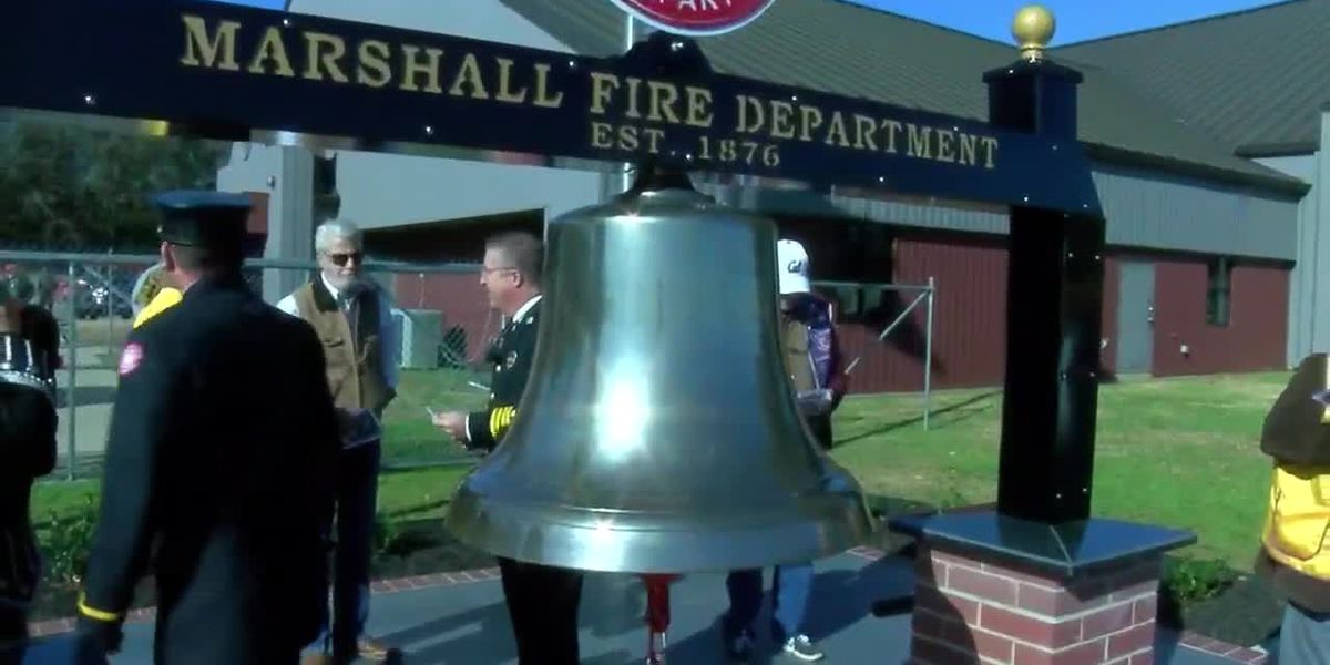 Historic fire bell dedicated at East Texas fire department