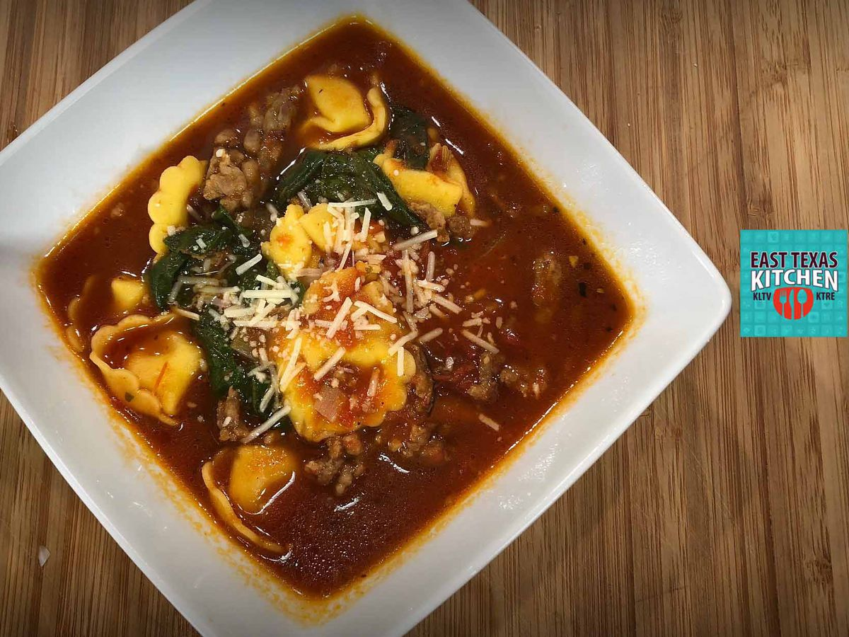 Italian sausage - tortellini soup by Mama Steph