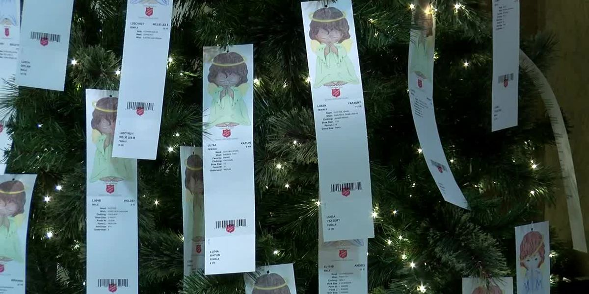 Angelina County Salvation Army kicks off its Angel Tree campaign