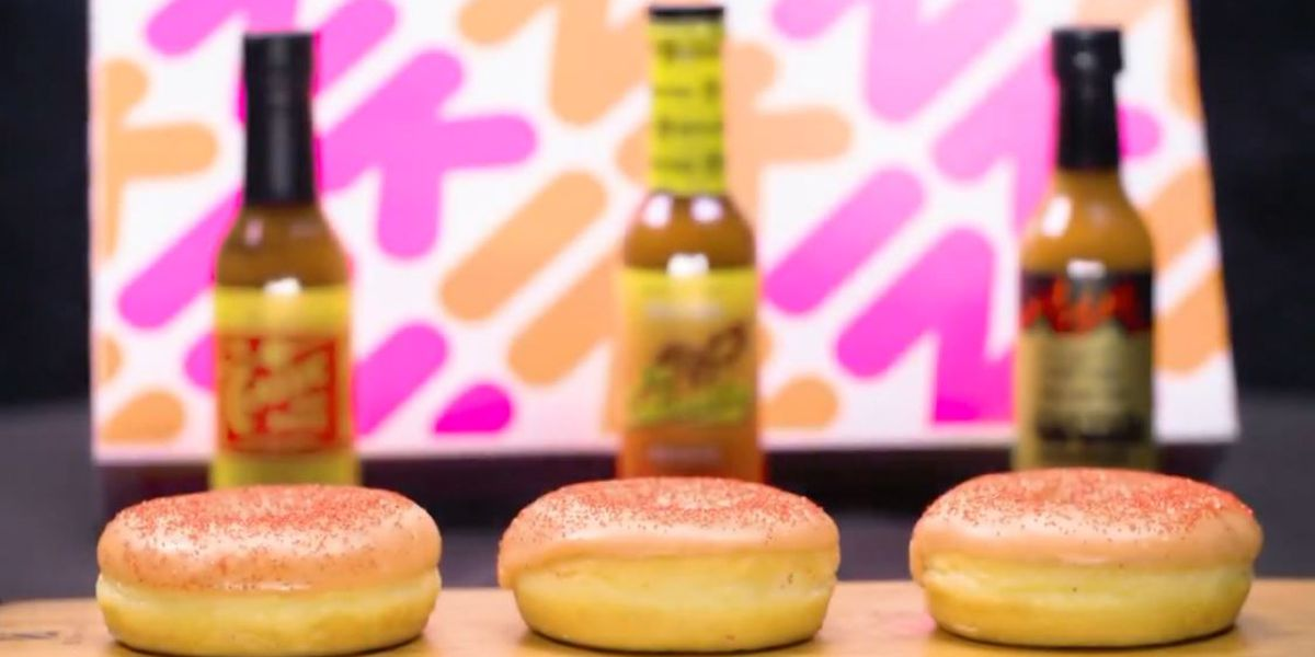 New Dunkin' donut is scary spicy