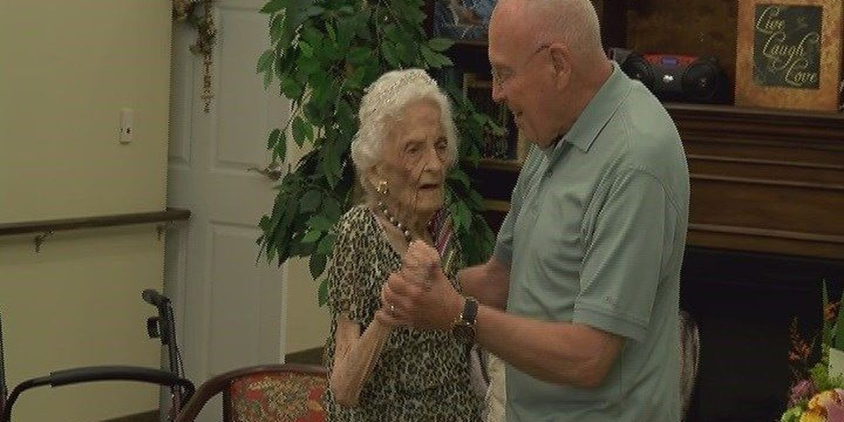 100-year-old E. Texas woman: 'Drink milk and always eat what your mother tells you'