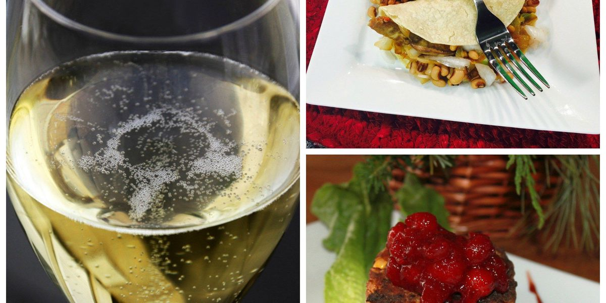 10 recipes to perfectly pair with your New Year's champagne
