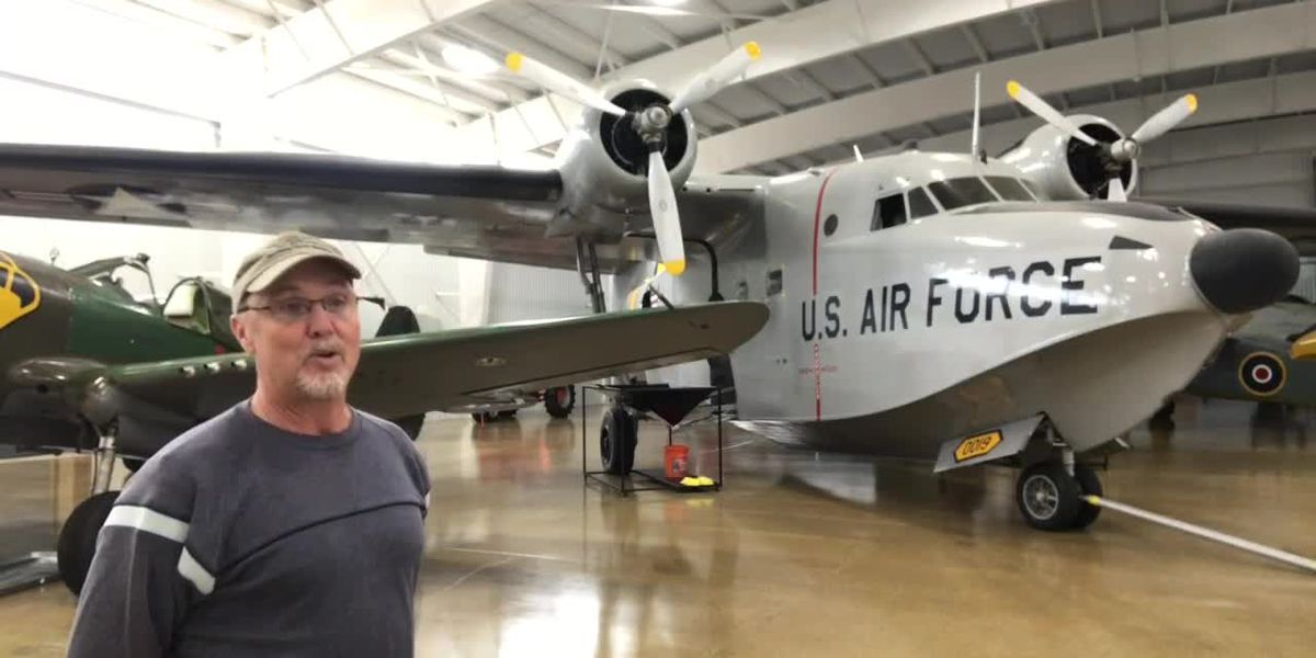 WEBXTRA: Inside the Mid-America Flight Museum in Mount Pleasant