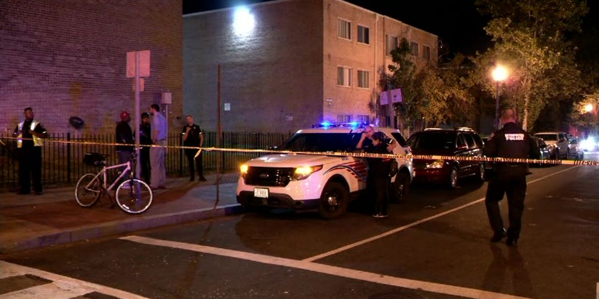 8 injured, 1 dead in pair of Washington DC shootings