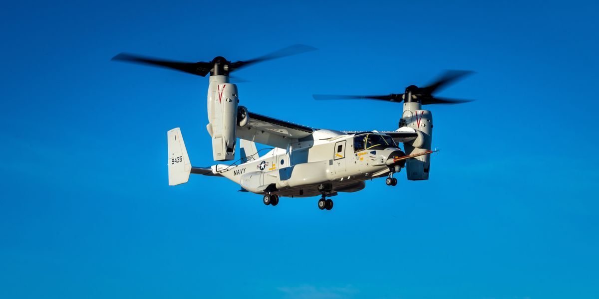 Bell presents new helicopter model to U.S. Navy