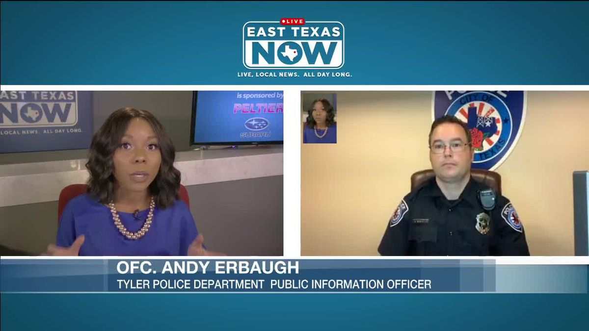 WATCH: Tyler police spokesman discusses George Floyd situation, says TPD welcomes peaceful protests