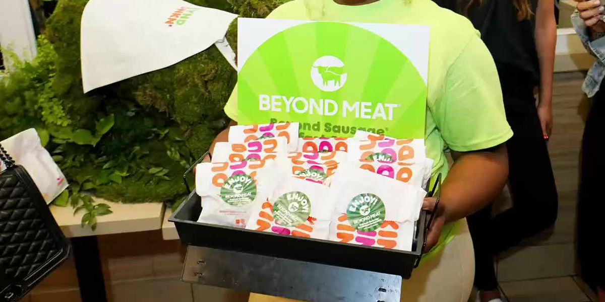 Dunkin' teams up with Beyond Meats to offer veggie-based breakfast sandwich