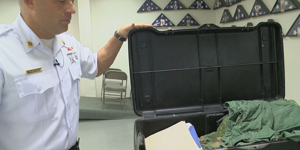 East Texas Veterans searching for owner of lost military storage chest