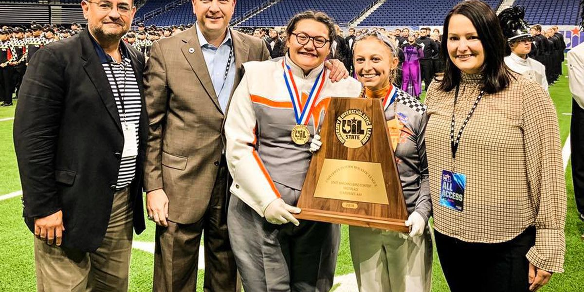 Mineola Marching Band wins back-to-back state titles