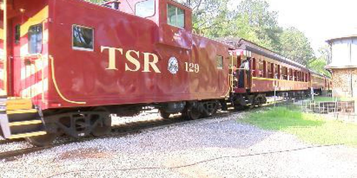 Bring the kids to ride the Texas State Railroad for Easter