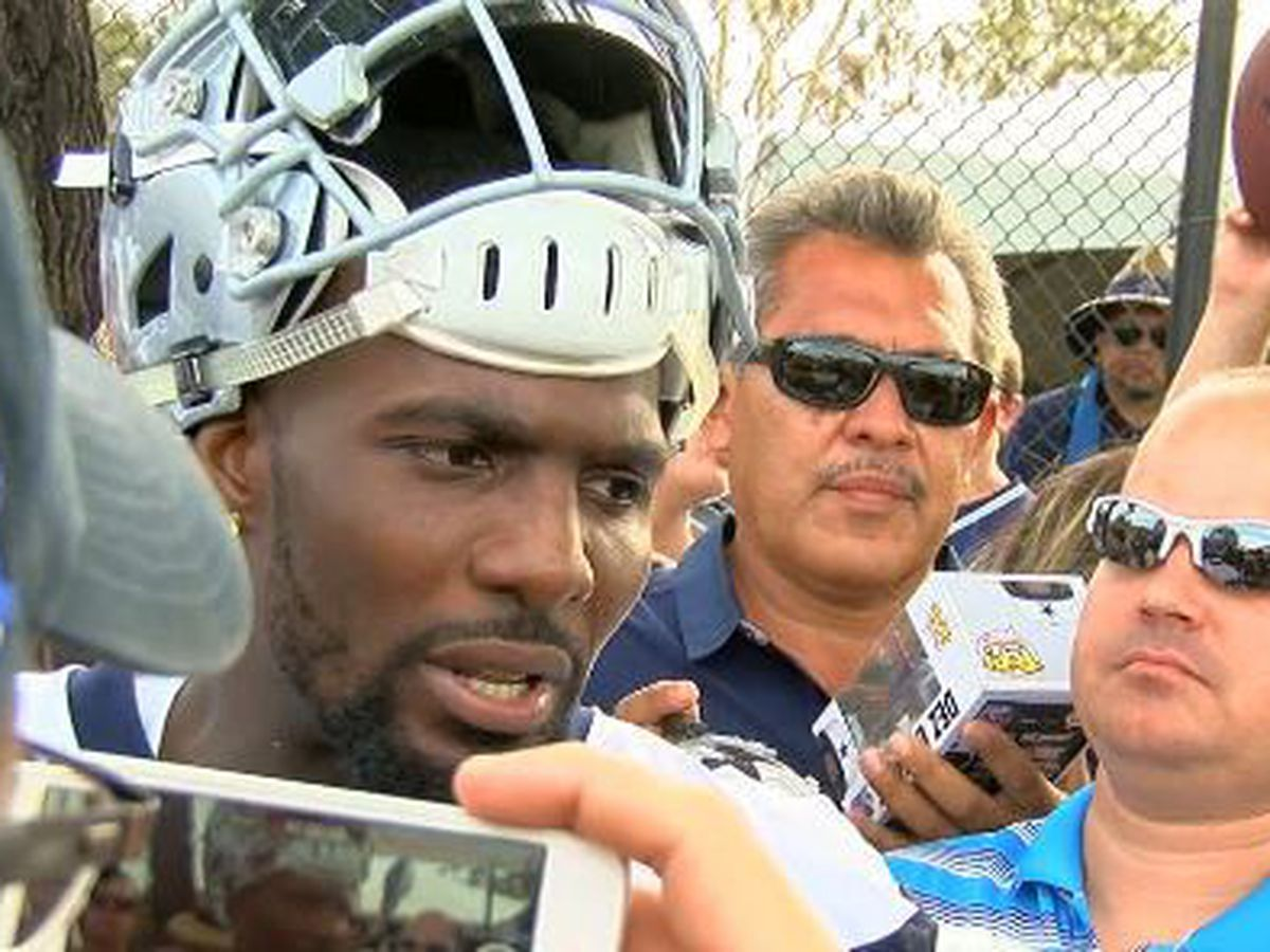 Former Cowboy Dez Bryant still entertains via social media