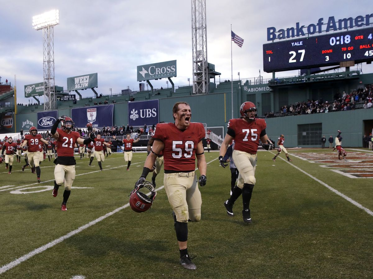 Harvard beats Yale 45-27 as The Game sets scoring record