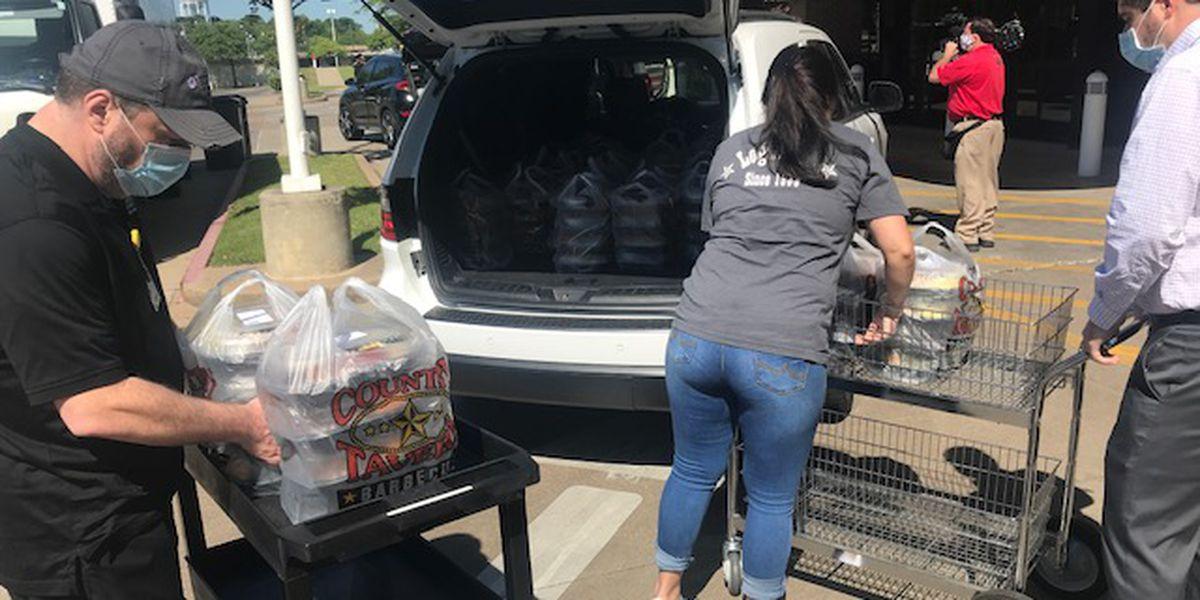 Longview church donates 900 meals to feed staff at CHRISTUS Good Shepherd Medical Center
