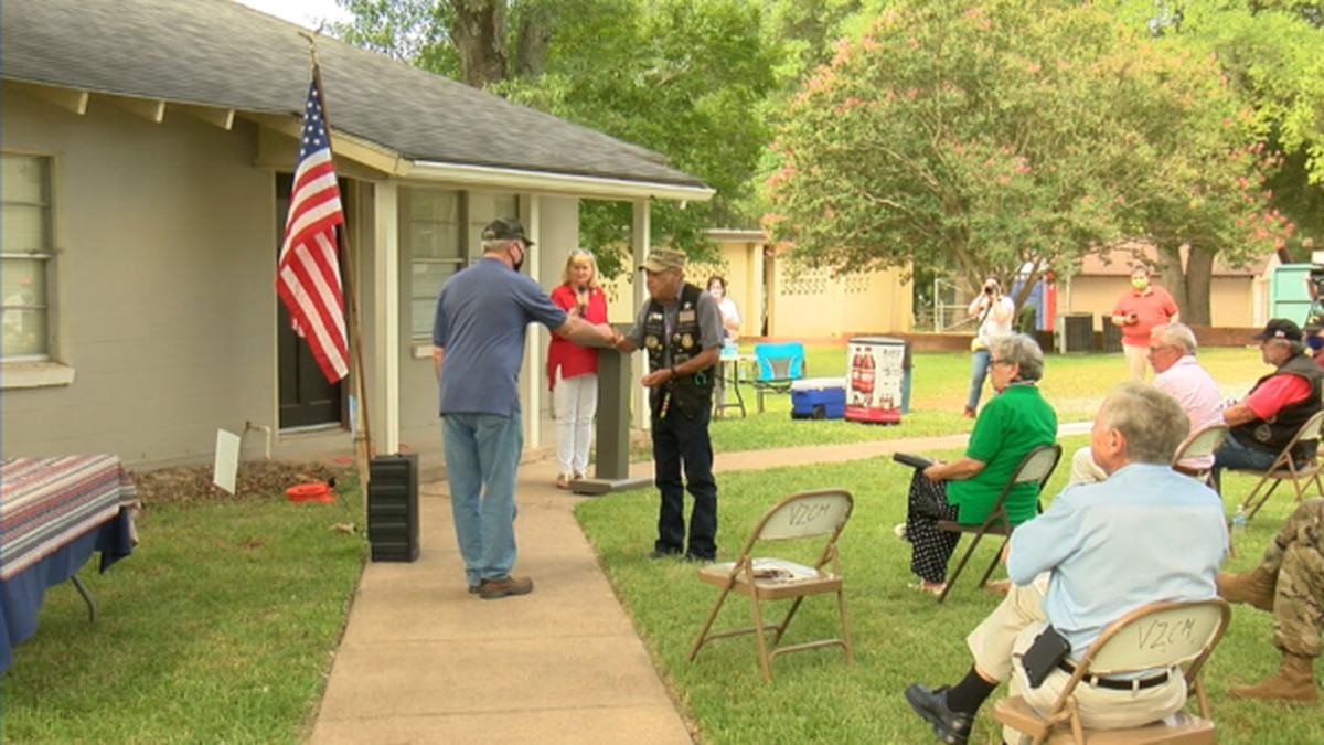 Veterans honored at Tyler's Camp V to commemorate Purple Heart Day
