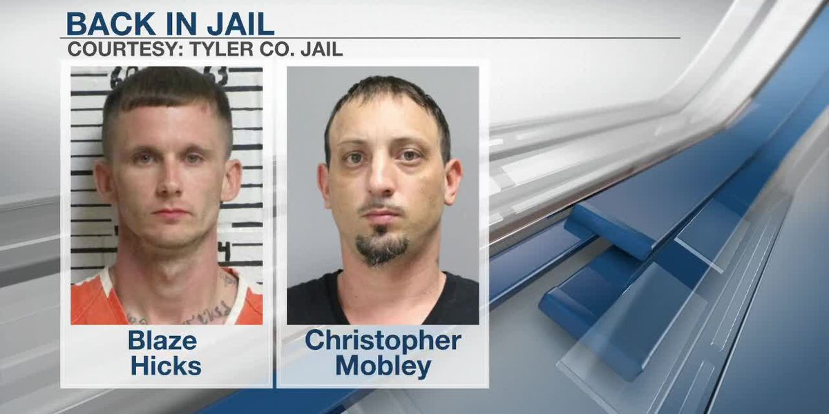 Tyler County Escaped Inmates