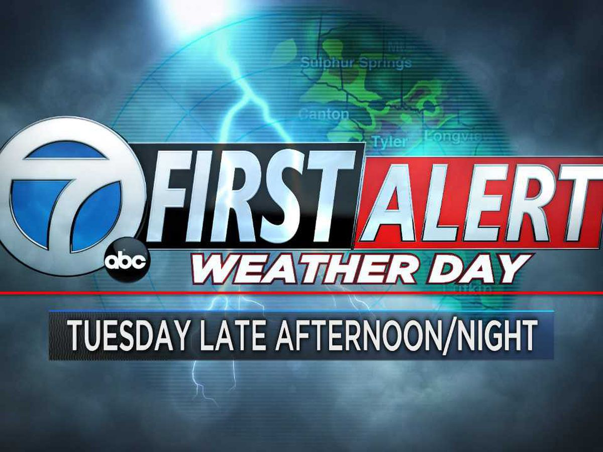 FIRST ALERT WEATHER DAY: Tuesday late afternoon- Tuesday night