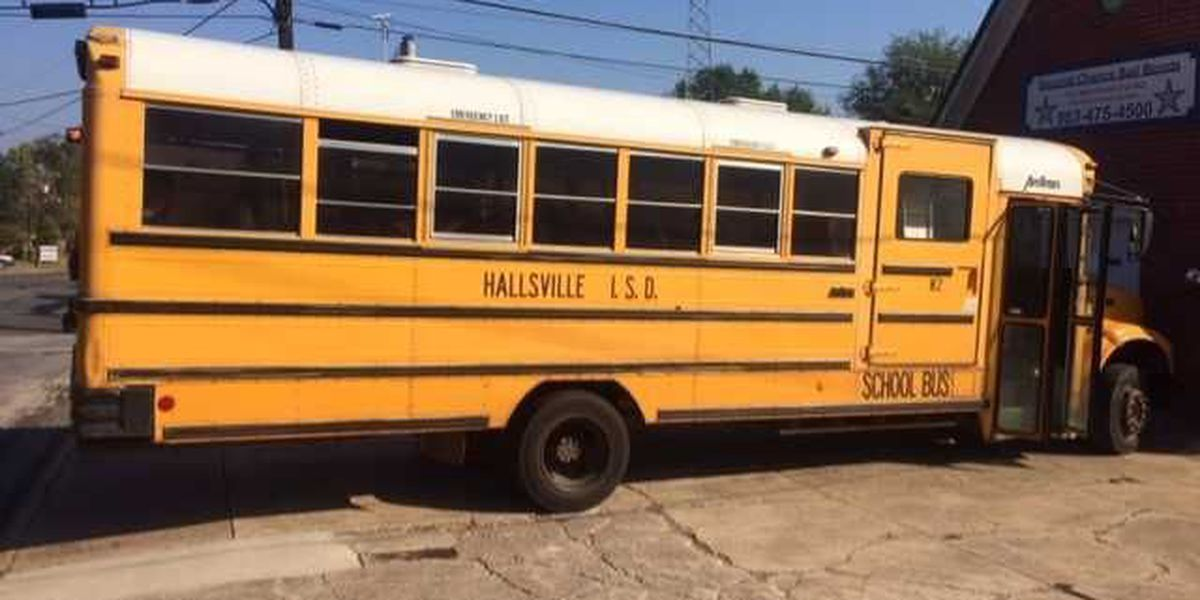 Police responding to wreck involving Hallsville school bus, no injuries