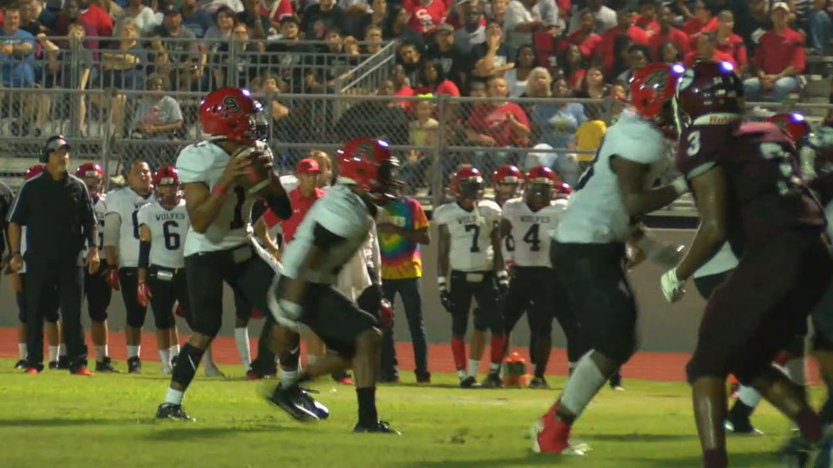 San Augustine leaves Garrison with 36-28 win
