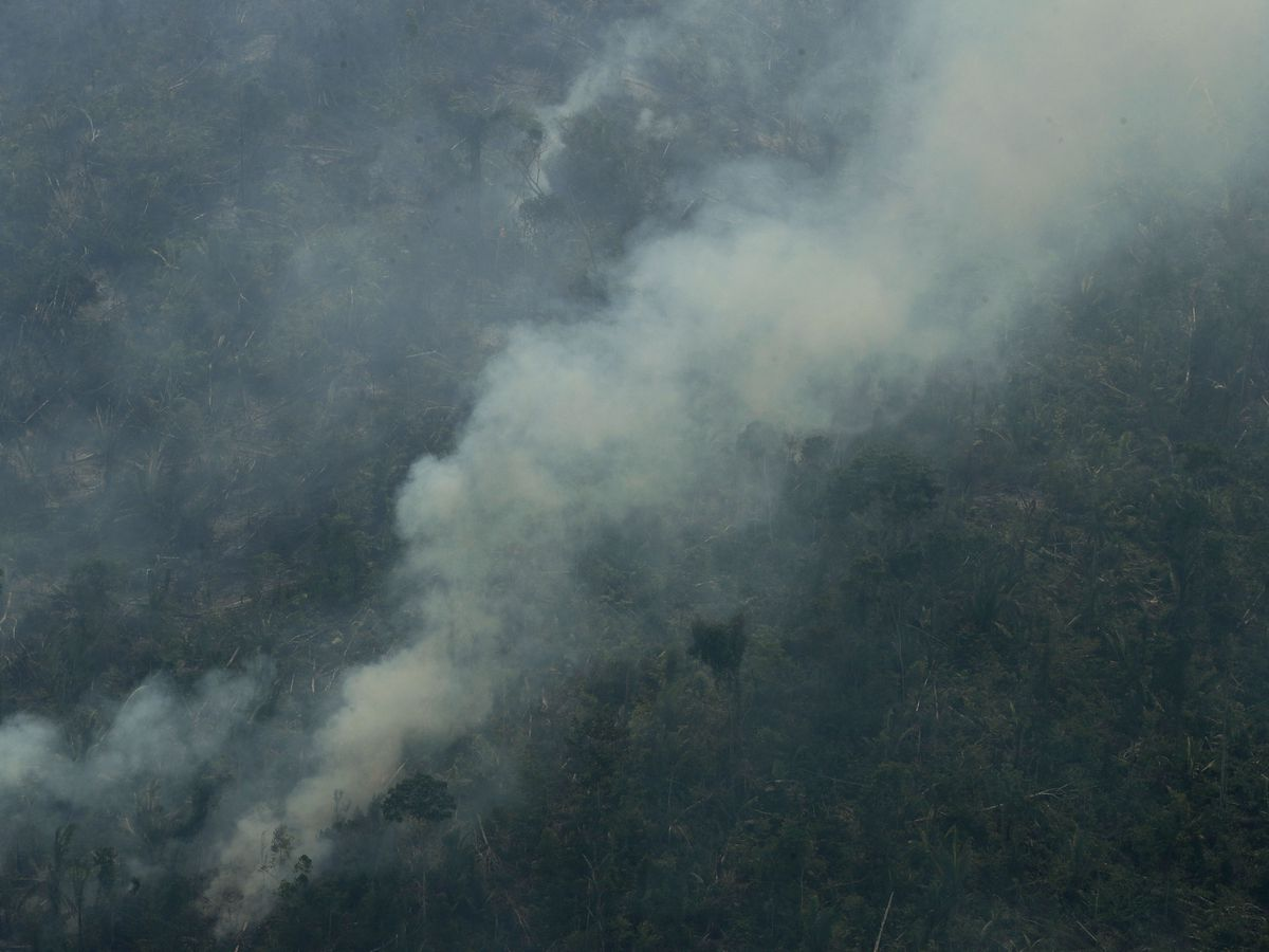 Brazilian troops begin deploying to fight Amazon fires
