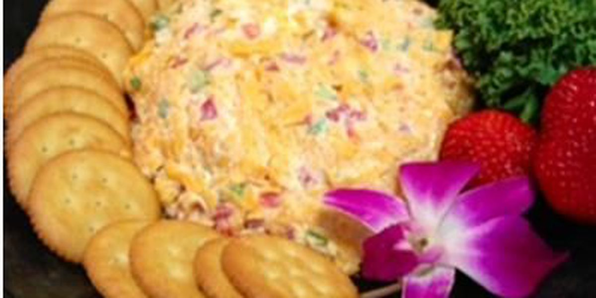 Pimiento Cheese: Potpourri House's most famous