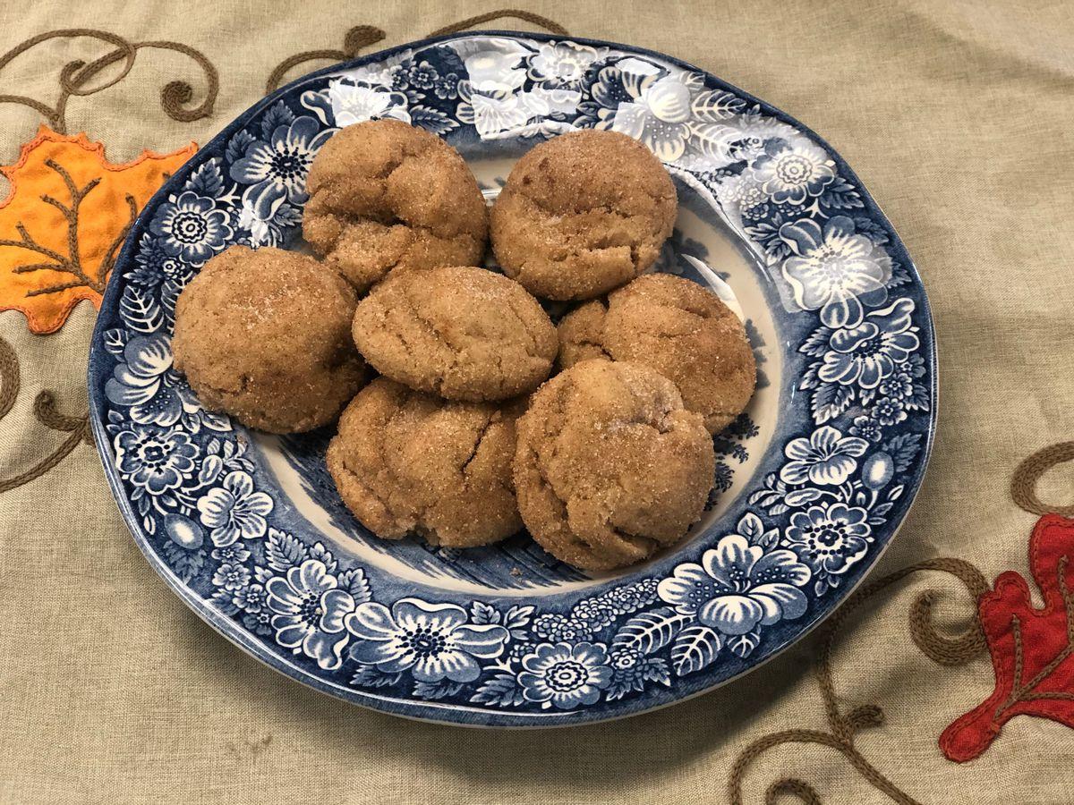 Secret-ingredient cinnamon cookies by Mama Steph